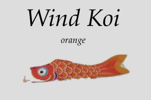 Wind Koi orange